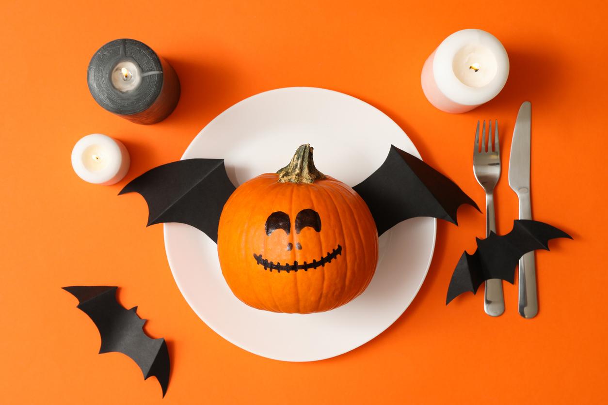 Halloween Breakfast Menu