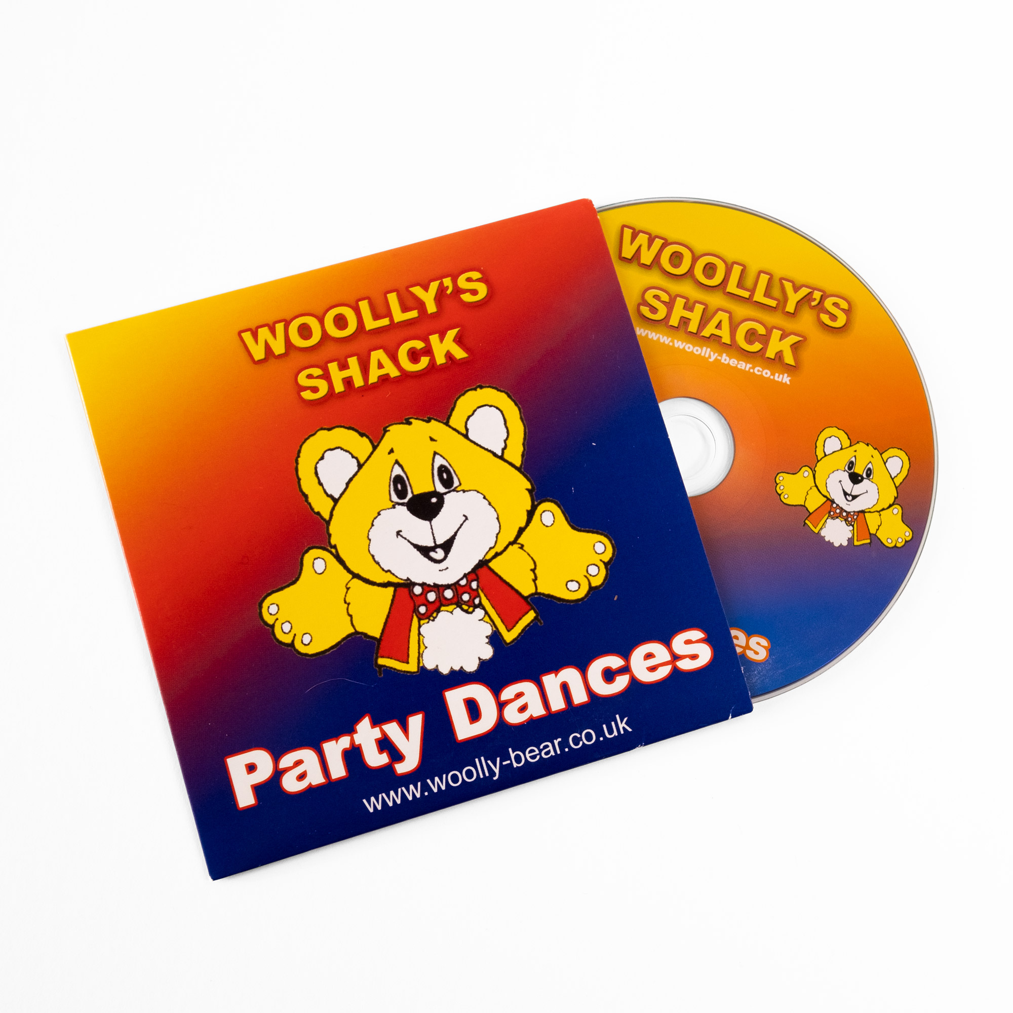Woolly's Party Dances CD