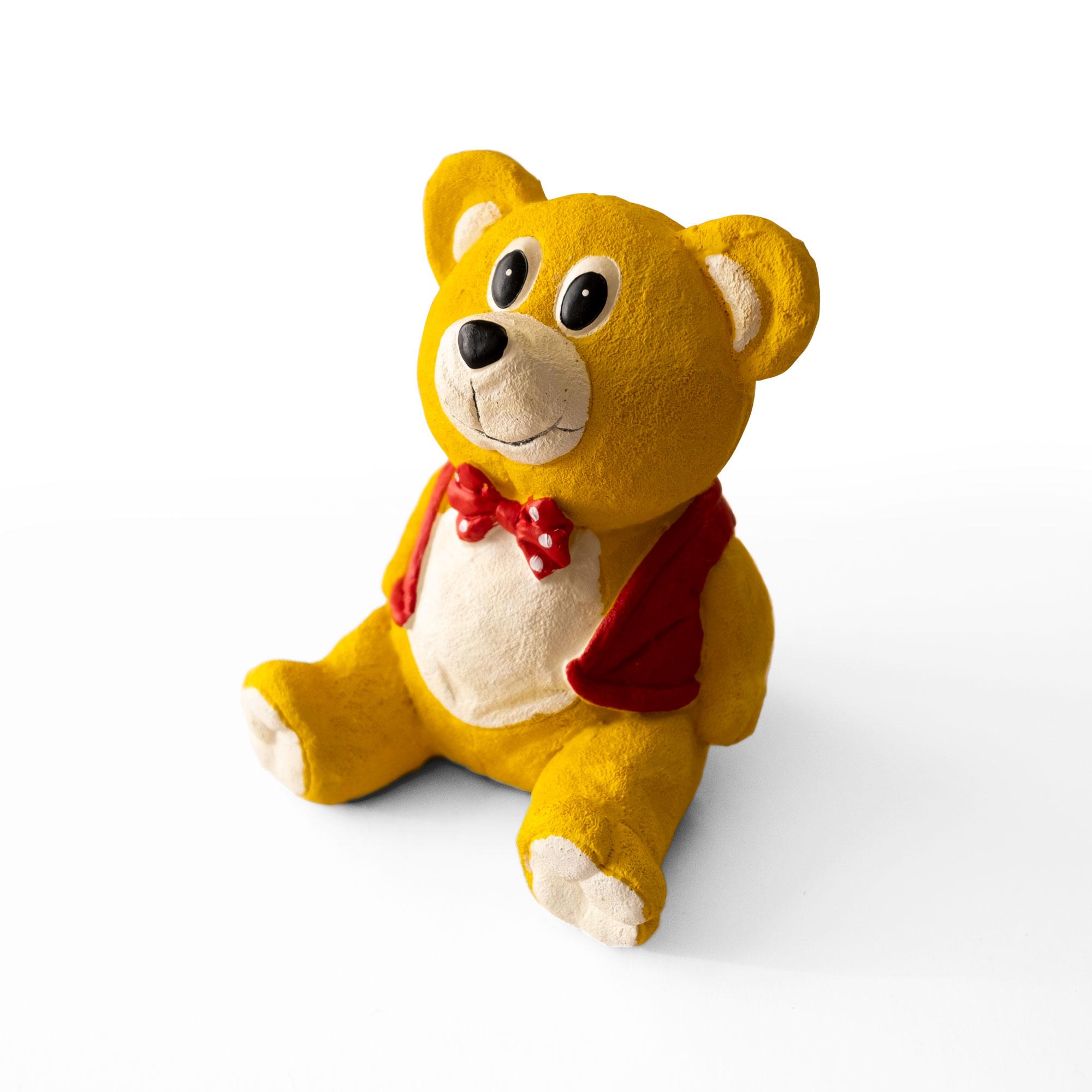 A Woolly bear soft toy